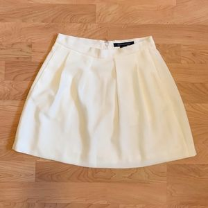 French Connection Fully Lined Pleated Skirt